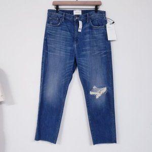 Current Elliot The Vintage Crop Slim Jeans NWT